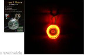 Day & Night Blinki Disc, LED Sicherheitsblinker in verschiedenen Farben
