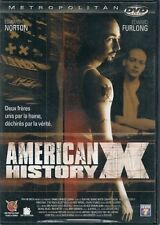 DVD *** AMERICAN HISTORY X *** avec Edward Norton