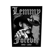 lemmy kilmister für immer motorhead back patch nähen auf offiziellen badge album