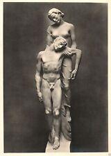Zwischenkriegszeit (1918-39) Kunst-& Kultur-Ansichtskarten für Skulptur