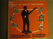 BYRON LEE AND THE DRAGONAIRES CARRIBEAN JOY RIDE LP OG '64 STARLINE RARE CALYPSO
