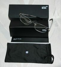 MONT BLANC Eyeglasses MB 561 016 Palladium/Black
