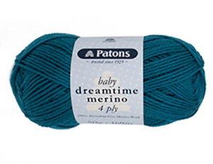 Patons Dreamtime Merino 4 Ply Baby Wool