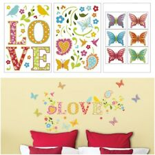 ADD HERES Adhesive Stickers LOVE GARDEN Jardin D'Amour Peel Stick Decor