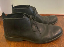 Timberland Earthkeepers Mens Sz 14 City Lite Chukka Boots Black Leather 8148R
