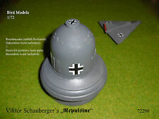 Viktor Schauberger´s REPULSINE   1/72 Bird Models Resinbausatz / resin kit