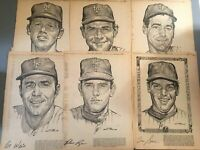 1969 NEW YORK Mets -  Met Stars by Stark Daily News Original 19 Newspaper Clips