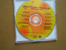THE FRONTIER OF COUNTRY PROMOTIONAL CDs, LOT OF 5