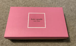 Kate Spade, Gift Box And Tissue Paper, Empty 23cm X 14cm