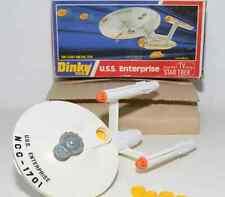 SPACE 1999 EAGLE**1 Dinky Toys 358 Star Trek U.S.S. Enterprise with box