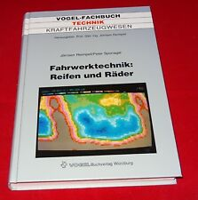 Vogel-Fachbuch Technik Kraftfahrzeugwesen - Fahrwerktechnik Reifen und Räder