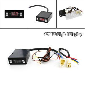 Car Modified 12V Auto Turbo Timer Control Set LED Digital Display For Universal