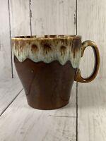 Vintage Cannonsburg Brown Drip Glaze Coffee Cup/Mug  USA