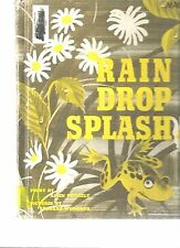 Rain Drop Splash- HB- Alvin Tresselt- ex-library- unpaged- picture book- 1966