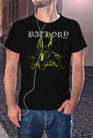 BATHORY Goat Men T-shirt Swedish Trash Metal Tee Shirt Venom Mayhem