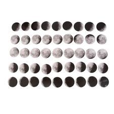 45x / Box Phase des Mondes Mini Papier Aufkleber Tagebuch Scrapbooking D-