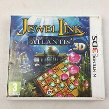 Jewel Link Legends of Atlantis 3D Nintendo 3DS - UK FREE UK Postage *Boxed*