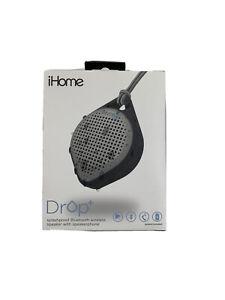 IBT15BG iHome Splash Proof Bluetooth Rechargeable Speaker Drop+