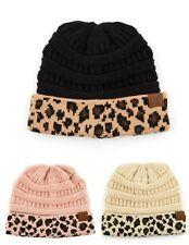 CC Animal Print Beanie CC Gloves Sets