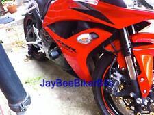 HONDA CBR 600 RR CRASH MUSHROOMS PROTECTORS 2009 2012 SLIDERS BUNGS BOBBINS R8C3