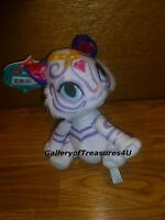 "Shimmer and Shine NAHAL Plush 6 - 7"" White Bengal Tiger Stuffed Animal Doll"