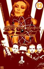 Strung Out Original Concert Poster rare lmtd 2005 tour print Evergreen Terrace