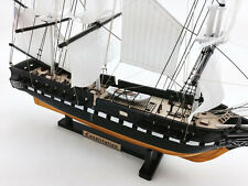 """USS Constitution Limited 18"""" Tall Model Warship Decorative Ship Pre-Assembled"""