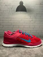 Nike Flex Trainer 3 Women's Running Shoes Pink White Teal (580374-600) Size 11
