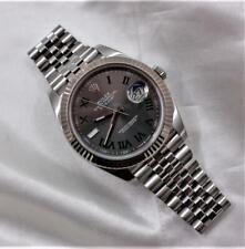 Rolex Datejust 41 Stainless Steel With 18K White Gold Bezel Watch Ref:126334
