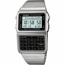 Casio Retro Databank 80s Style Calculator Vintage Gadget Watch DBC-611E-1EF New