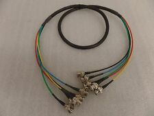 3ft RGBHV 5 BNC MALE TO 5 BNC MALE M/M Custom Made Cables