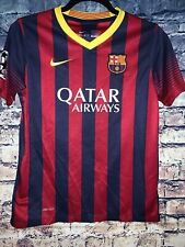 Lionel Messi FC Barcelona Nike Dri Fit 2014 soccer jersey Youth Large🔥🔥🔥