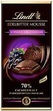 (100g=1,99€) Lindt Edelbitter Mousse Schokolade - Schwarze Johannisbeere - 150g