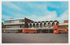 Staffordshire postcard BUS STATION & SHOPPING CENTRE, HANLEY, Stoke 1970's?