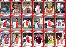 Ajax 1992 tarjetas comerciales FÚTBOL Copa UEFA ganadores