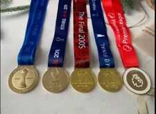 Liverpool Full Set Of Winners Medals