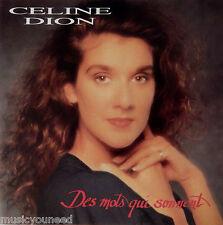 Celine Dion - Des Mots Qui Sonnent (CD, 1991, Sony/Columbia) Pressed in Austria