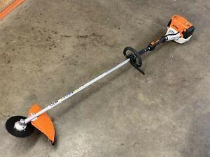 NEW: STIHL FS111R Trimmer / BRUSH CUTTER 31CC Heavy Duty W/ Blade & String Head