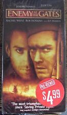 ENEMY AT THE GATES VHS early-00's WWII drama Jude Law Ed Harris Joseph Fiennes