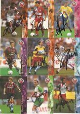 signiert-1 Cards aussuchen Panini Bundesliga 96-Freie Auswahl-No Match Attax