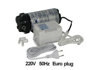 AQUATEC high flow booster pump European Euro 220V transformer CDP 8852-2J03-B424