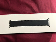 Apple Watch 44m Charcoal Braided Solo Loop Strap Size 4