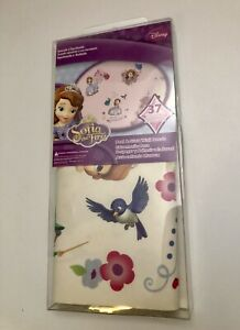 Sofia the First Disney Peel & Stick Wall Decals new in box 37