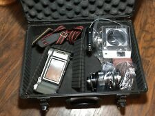 Mamiya 23 Standard Press 150mm lens 6x7 mag In Aluminum Case
