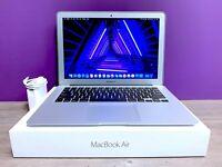 Apple MacBook Air 13 inch Laptop / 2.7GHZ Core i5 / SSD / OSX-2017 / WARRANTY