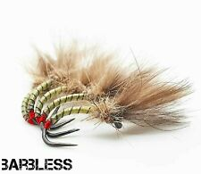 available 16,18 3 x CDC BLACK MIDGE ON BARBLESS HOOKS sizes 14