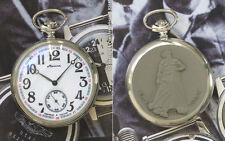 MOLNIJA 3602 Taschenuhr RUSSISCHE SAGE VOM URAL Russian pocket watch