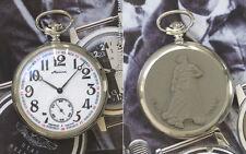MOLNIJA 3602 Taschenuhr RUSSISCHE SAGE VOM URAL Russian pocket watch