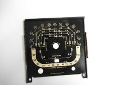 Zenith Transoceanic Radio, 8G005, Dial Face, Part No. 26-398, USA Made