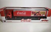 M2 Auto Haulers Coca Cola 1957 Dodge Coe & 1957 Chrysler 300c Limited Edition